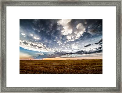 After The Storm Framed Print by Sean Ramsey