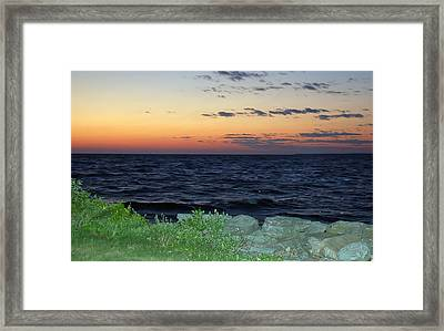 After The Sunset Framed Print by Aimee L Maher Photography and Art Visit ALMGallerydotcom