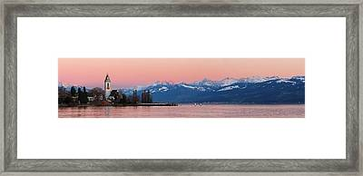 Afterglow Framed Print by Marc Huebner