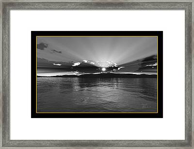 Afterglow Framed Print by Peter Chasse