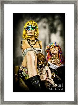 Afterlife - Mannequins Framed Print by Colleen Kammerer