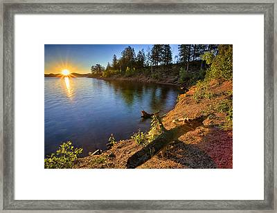Aftermath Framed Print by Thomas Zimmerman