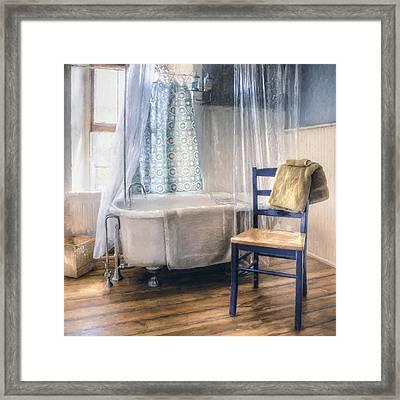 Afternoon Bath Framed Print by Scott Norris
