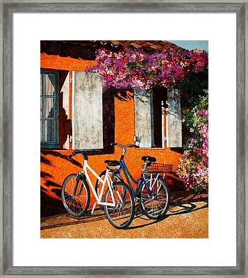Afternoon Delight Framed Print by Lenore Crawford