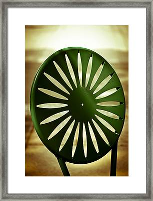 Afternoon On The Terrace Framed Print by Christi Kraft