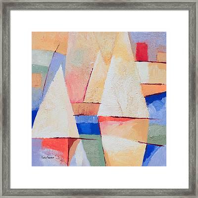 Afternoon Sails Framed Print by Lutz Baar