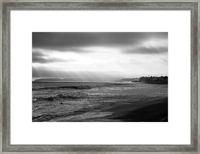 Afternoon Session Framed Print by Joey  Maganini
