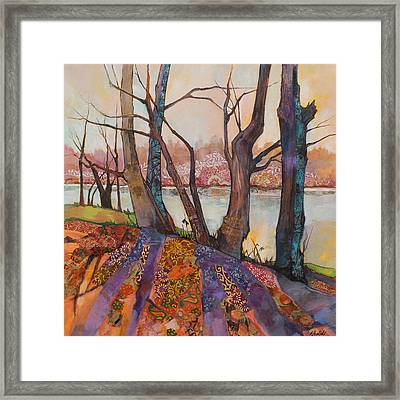 Afternoon Shadows Framed Print by Marty Husted