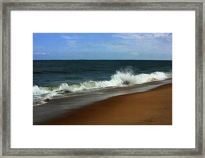 Afternoon Surf Framed Print by Forest Stiltner