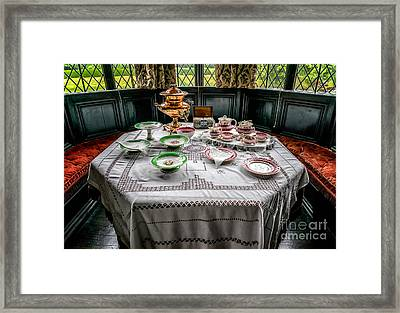 Afternoon Tea Framed Print by Adrian Evans
