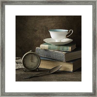 Afternoon Tea Framed Print by Amy Weiss
