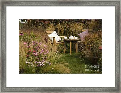 Afternoon Tea Framed Print by Anne Gilbert