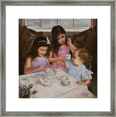 Afternoon Tea Framed Print by James Loveless