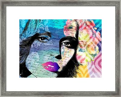 Again Framed Print by Ramneek Narang