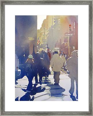 Against The Light Framed Print by Kris Parins