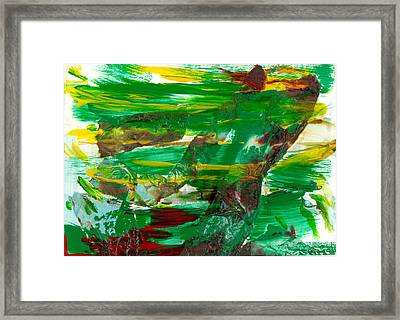 Against The Wind Framed Print by Pannet