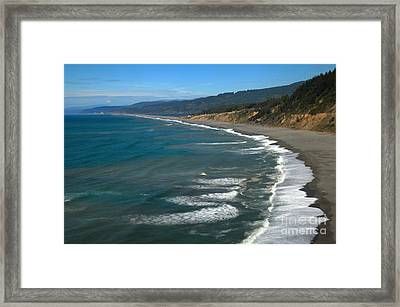 Agate Beach Framed Print by Adam Jewell