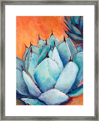 Agave 1 Framed Print by Athena  Mantle