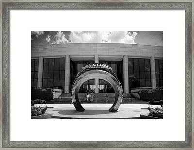 Aggie Ring Iv Framed Print by Joan Carroll