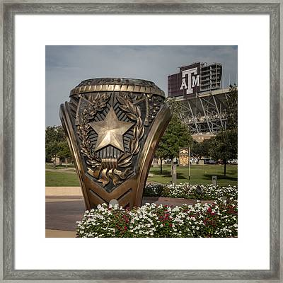Aggie Ring Framed Print by Joan Carroll