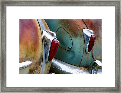 Aging Lovers Framed Print by Jean Noren