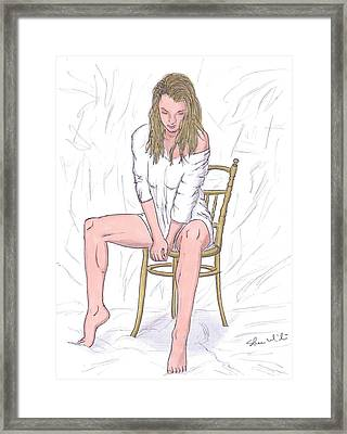 Agnieszka Framed Print by Steven White