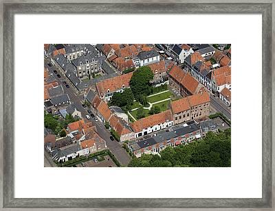 Agnietenklooster, Elburg Framed Print by Bram van de Biezen