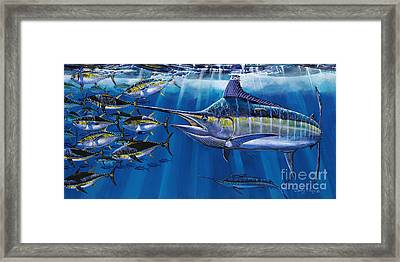 Agressor Off00140 Framed Print by Carey Chen