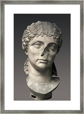 Agrippina The Elder 14bc-33. Prominent Framed Print by Everett
