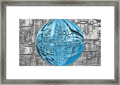 AI Framed Print by Dan Sproul