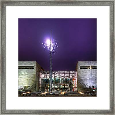 Air And Space Museum Framed Print by Metro DC Photography