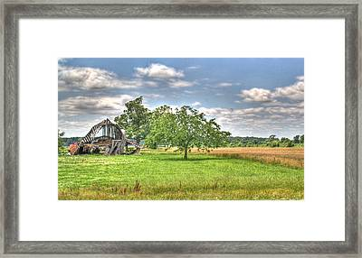 Air Conditioned Barn Framed Print by Douglas Barnett