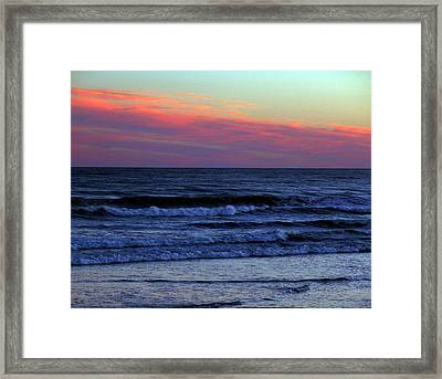 Air Fire And Water Framed Print by George Cousins