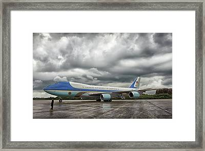 Air Force One Framed Print by Mountain Dreams