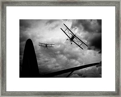 Air Pursuit Framed Print by Bob Orsillo
