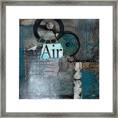 Air Sign  Framed Print by Laura  Lein-Svencner