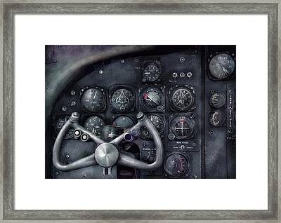 Air - The Cockpit Framed Print by Mike Savad