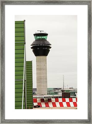 Air Traffic Control Tower Framed Print by Ashley Cooper
