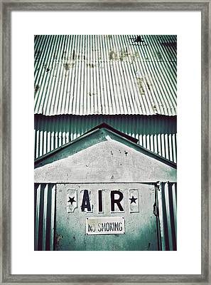 Air Framed Print by Trish Mistric
