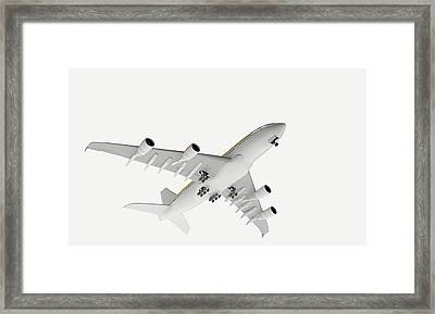 Airbus Flying Framed Print by Dorling Kindersley/uig