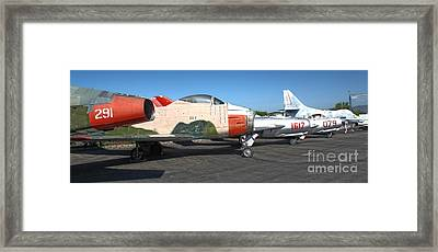 Airplane - 12 Framed Print by Gregory Dyer