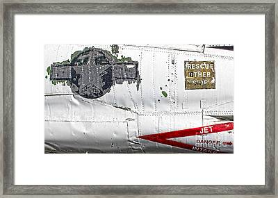 Airplane - 15 Framed Print by Gregory Dyer