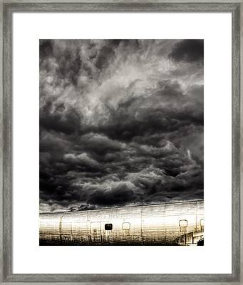 Airplane Framed Print by Bob Orsillo