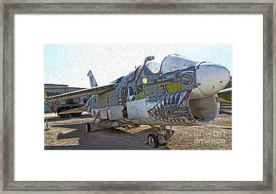 Airplane Graveyard - 05 Framed Print by Gregory Dyer