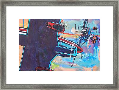 Airplane Mistake Framed Print by Frans Mandigers