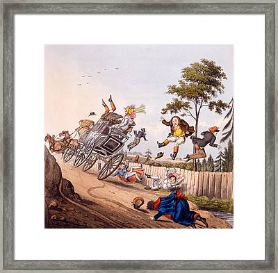 Airy Nothings, Or Scraps And Naughts Framed Print by M. Egerton