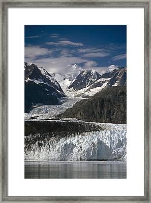 Ak Southeast Glacier Bay Natl Park Framed Print by Harry M. Walker