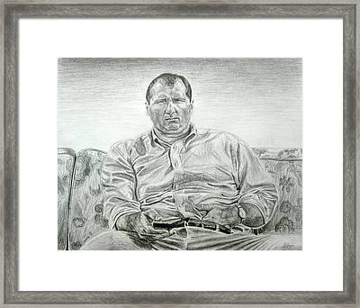 Al Bundy Framed Print by Michael Morgan