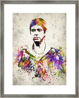 Al Pacino Framed Print by Aged Pixel