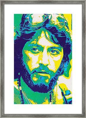 Al Pacino In Serpico Framed Print by Art Cinema Gallery